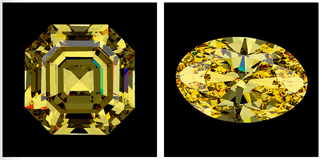 Fancy-Color Diamonds: Better Color Appearance by Optimizing Cut
